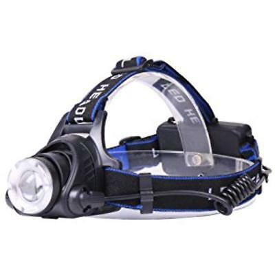 """Zoomable LED Headlamp By Limitless"""" Rechargeable Lamp For Night Walks & Runs 3"""