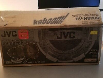 JVC RV-NB70B CD/Radio/USB Port/iPod Dock Boombox