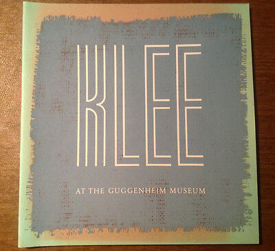 Paul Klee at the Guggenheim Museum, 1977 Guggenheim Foundation, Color Plates