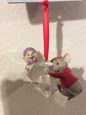 Disney Sketchbook Ornament The Rescuers Down Under 2015 new with tags! CHRISTMAS