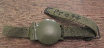 Vintage Military Model 1949 Survival Wrist Watch Compass Named Soldier