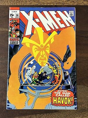 X-men #58 1963 VF/NM+ 9.6 1st Appearance Havoc High Grade key Issue