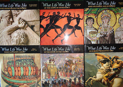 What Life Was LikeTime BooksLot of 6 Hardcover w/ Dust Jackets