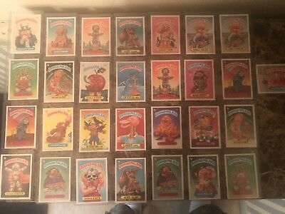 1986 Topps GPK Series 3 & 4 Pack Fresh Mint And Centered Lot Of 29 Cards