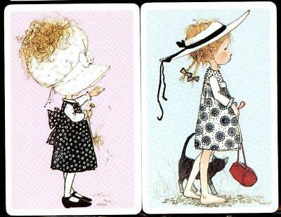 Holly Hobbie Swap Cards X2 Cards In Beautiful Condition
