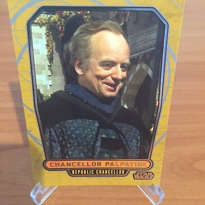 Star Wars Galactic Files Series 2 CHANCELLOR PALPATINE # 380