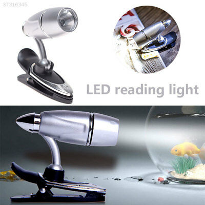 LED Clip Booklight Adjustable Portable LED Torch Home Decor Night Lamp