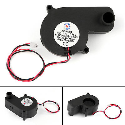 DC Brushless Cooling PC Computer Fan 12V 5028s 50x50x28mm 0.25A 2 Pin Wire AU
