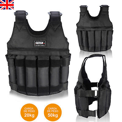 Adjustable Weighted Vest Gym Running Fitness Sports Training Weight Loss Jacket
