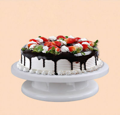 Kitchen Cake Decorating Icing Rotating Revolving Turntable Display Stand 28CM