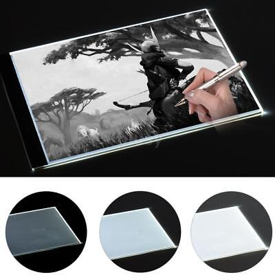 A3 A4 LED Light Box Tracing Board Art Craft Drawing Pad Sketching Panel Dimmable
