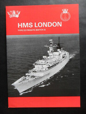 Royal Navy HMS LONDON Welcome Aboard 1998