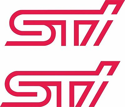 Subaru Forester STI Fog Cover decals stickers graphics exact oem size