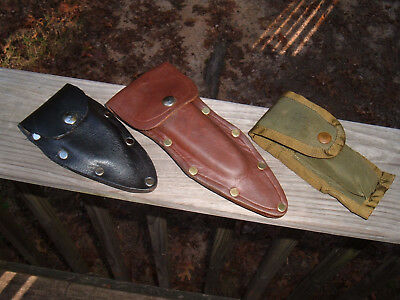 Knife Sheaths Lot [3]