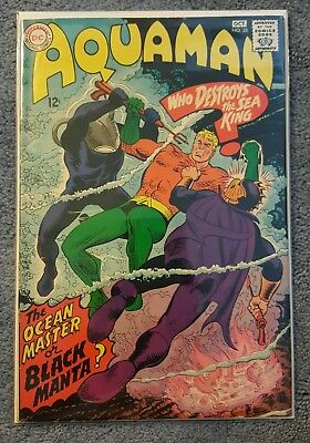 Aquaman #35 (Sep-Oct 1967, DC) FN (6.0) 1st First appearance Black Manta