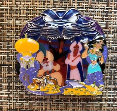 Disney Park Pack Pin July 2018 Jasmine Abu Cave of Wonders frame 3 of 3 LE 500