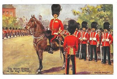 Carte Postale Tuck S  N° 3041 The Welsh Guards On The King's Birthday