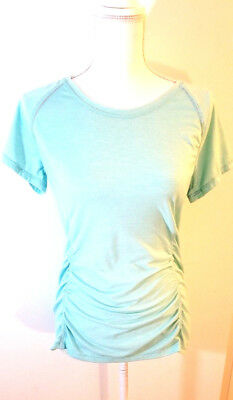 Tangerine Womens Athletic Top Sz Medium Short Sleeve Basic Tee Casual T Shirt