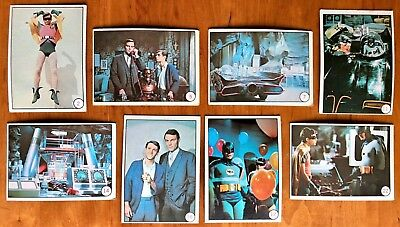 Lot of 28 Topps Bat Laffs Batman Cards from 1966 for sale by original owner