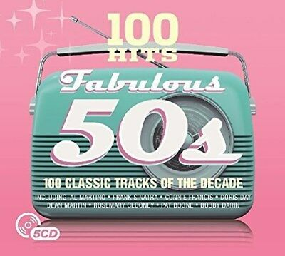 100 Hits: Fabulous 50s - Various Artists (Box Set) [CD]