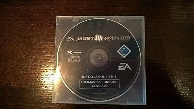 """pc - spiele -cd / dvd - rom, """"command & conquer generäle"""""""