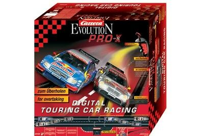 Carrera Evolution Pro X Digital Touring Car Racing + diverse Erweiterungen