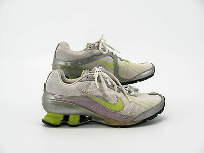 new product 9e6ab d7d1b Nike Shox Vivify Women White Silver Sneaker Running Shoe 7M Pre Owned GQ