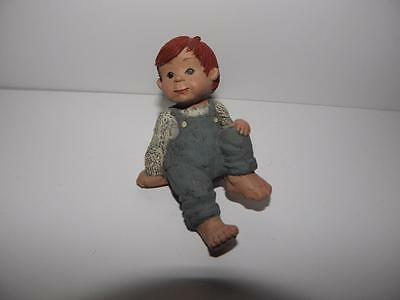 SARAH'S ATTIC Child BOY Student RED HAIR #4028 Class GRANNY'S FAVORITES _NEW!