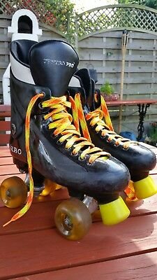 Ventro Pro Turbo Quad Roller Skates, Bauer Style Size UK 5 Mens or womens