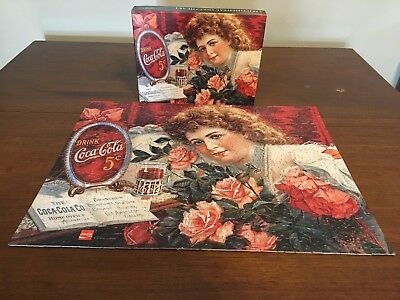 1985 Springbok Coca-Cola Puzzle, Over 500 Pc. Complete
