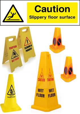 Safety Cones Large Wet Floor,Slippery Surface, No Waiting, Quality. 5% discount