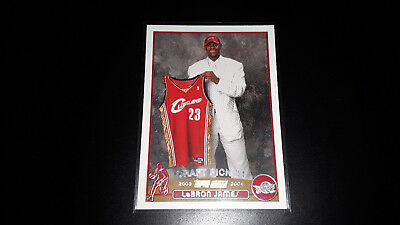 2003-04 Topps RC (Rookie Card) LeBron James
