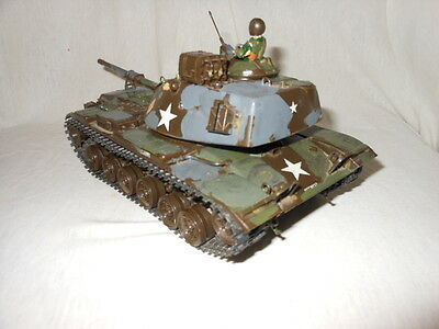 großes Spielzeug Panzer Modell made in Japan Kunststoff 26 cm Tank