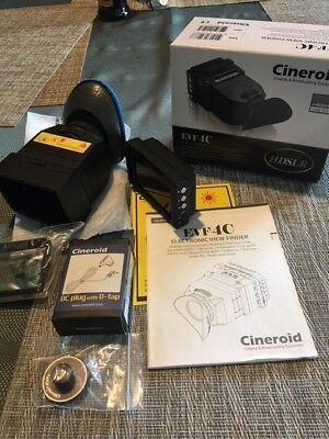 Cineroid EVF 4C VIEWFINDER HDMI in and out