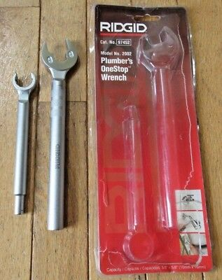 RIDGID Model 2002 Plumber's OneStop Wrench