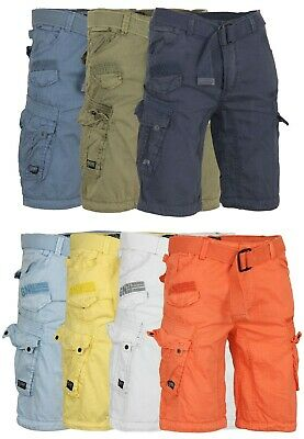 Geographical Norway Jeans Shorts Bermuda Cargo Pant Estate Pame