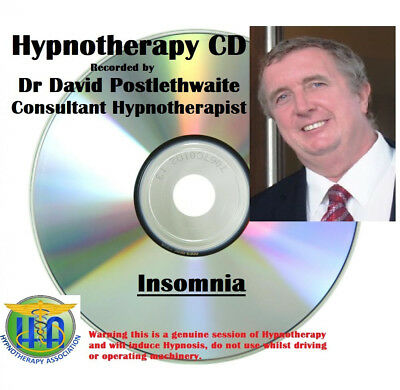 Hypnotherapy CD Insomnia Get a Good Restful Sleep