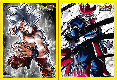 Dragon Ball Super Colossal Warfare Card Sleeves Son Goku & Demigra - NEW 50/pack