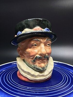 Royal Doulton, Mini Toby Jug, Beefeater Character Jug, Very good Fine condition.