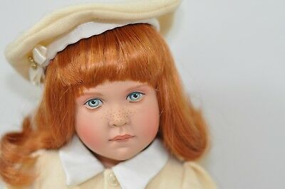"""Helen Kish 1997 16"""" LE 1996 Meredith doll from Sunday Best Collection Excellent"""