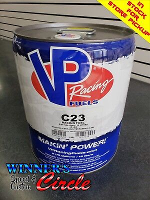 VP RACING FUEL C16 (120 Octane) Sealed 5 Gallon Pail - In