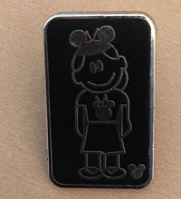 Disney Trading Pin - Hidden Mickey - Daughter with Mouse Ears