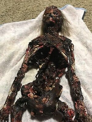 Custom Corpse Skeleton Bloody Gory 36 Inches One Of A Kind  Halloween Prop