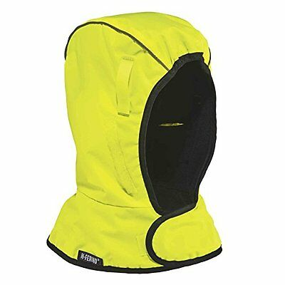 N-Ferno Personal Protective Equipment 6842 Thermal Hard Hat Winter Liner, Lime