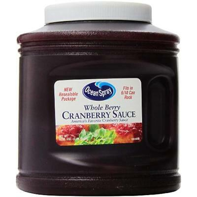 Whole Sauce Gravy & Marinade Gifts Cranberry Sauce, Resealable Container,