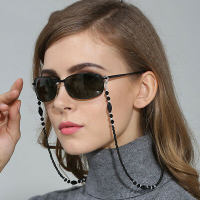 Chic Beads Beaded Eyeglass Cord Reading Glasses Eyewear Spectacles Chain Holder