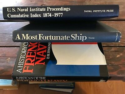 Lot of 3 Hardcover books about Ships, References for Ship Modelers!