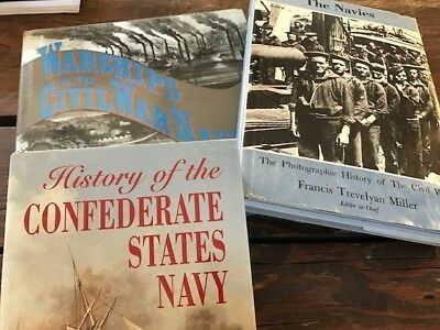 Lot of 3 books The American Civil War Collection, All Hardbacks with Dust Covers