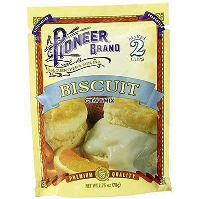Biscuit Sausage Gravy Mix, 2.75 Ounce (Pack Of 12)