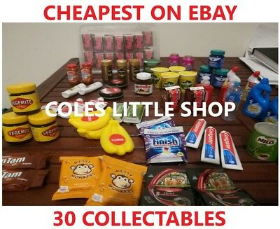 Coles Little Shop Mini Collectibles EXPRESS SHIPPING FOR 5+ ITEMS